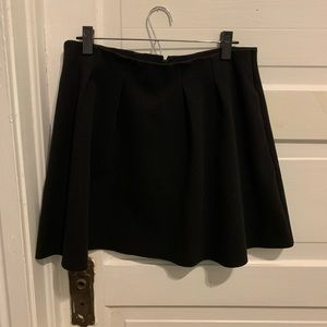 Black, Madewell fit & flare skirt (with pockets!)